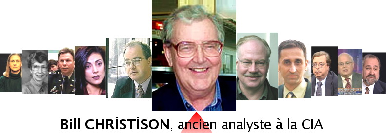 Bill Christison, ancien analyste à la CIA