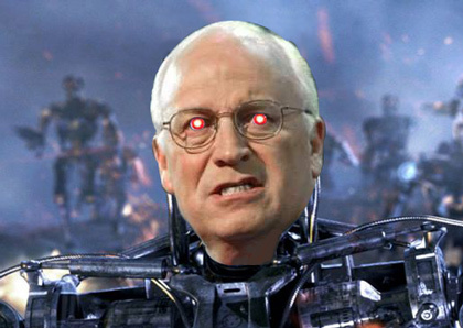 Dick Cheney en Terminator
