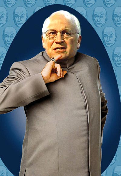 Dick Cheney en Mini Moi