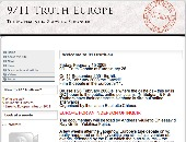 Site internet Europe for 911 truth